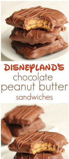 Disneyland's Chocolate Peanut Butter Sandwich 6 sheets graham crackers, 3 c milk choc chips & 2 t shortening-divided, 1 c peanut butter, 1/2 c XXX, 1/2 t vanilla, 1 1/2 t milk
