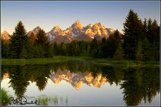 D-4522 Grand Teton National Park ~ Brent Russell Paull - American West Photography
