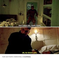 matt and frank's relationship: a summary #Marvel #Daredevil #netflix