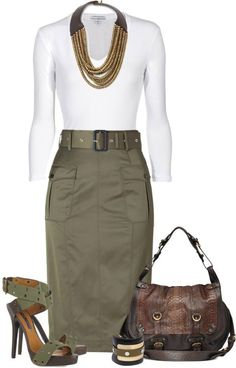Nice casual and dressy outfit for on the go!