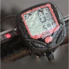 送料無料S548B防水lcd自転車コンピュータ ディスプレイ バイク走行距離スピード メーター 14 の機能ストップウォッチ BCP0102