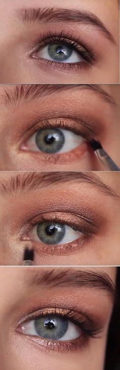 Makeup Tutorials for Blue Eyes -Makeup For Blue Eyes - A Full Face Tutorial -Easy Step By Step Beginners Guide for Natural Simple Looks, Looks With Blonde Hair Colour and Fair Skin, Smokey Looks and Looks for Prom https://thegoddess.com/makeup-tutorials-blue-eyes