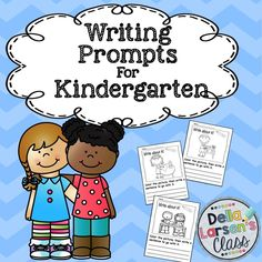"""Do your kids need a visual cue to activate their writing? Mine sure do. These """"NO PREP"""", """"Print and Go"""" writing prompts are terrific for kids who just can't seem to get started writing. The picture gives them something easy to write about. They are engaging and the kids can quickly get to the task of writing. Give them a try and you may be surprised at the results. These will be your """"go to"""" prompts all year long."""