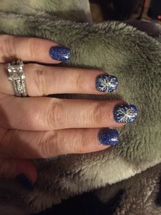 Love my Winter Nails that I got done. Thank  you Nice One Nails
