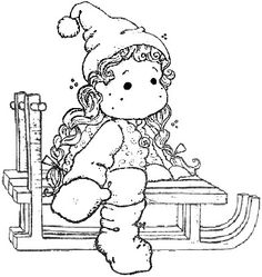 A Christmas Story Tilda on the roof. Colouring Pages, Adult Coloring Pages, Coloring Books, A Christmas Story, Christmas Colors, Spectrum Noir, Christmas Coloring Pages, Funny Art, Copics
