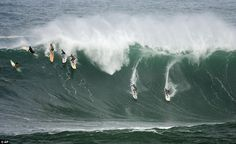 Watch a surfing competition at the Pipe in Hawaii