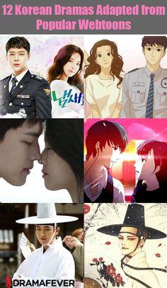 These dramas all got their start as webtoons!