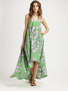 Love this DVF cover-up!