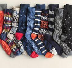 socks Silly Socks, Crazy Socks, Happy Socks, My Socks, Tomboy Fashion, Mens Fashion, Preppy Wardrobe, Sock Hop, Wasp