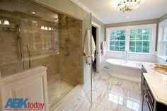 Storybook bathroom remodel... #ABKToday #LancasterPA #Lancaster #bathroomremodel