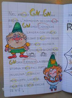 Primary School, Elementary Schools, How To Speak Italian, Italian Grammar, Learning Italian, Teaching Materials, Graphic Organizers, New Years Eve Party, Literacy