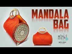 Borsa all'uncinetto - MANDALA BAG - Crochet bag - YouTube Crochet Bag Tutorials, Craft Bags, Crochet Handbags, Purse Patterns, Straw Bag, Purses And Bags, Knit Crochet, Have Fun, Pouch