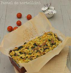PASTEL DE TORTELLINI #recetas