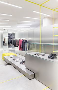 Acquasalata Clothing Store in Cattolica, Italy by Storage Associati | Yellowtrace