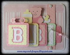 Baby Waterfall Card by Janet