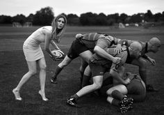 No woman no play? We want this! #sport #rugby
