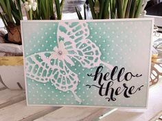 Stampin' Up! Butterfly basics, Irresistibly Yours designer series paper, Hello There, stempelfeestje, Stampin' Up! party, workshop, Stampin' Up! bestellen