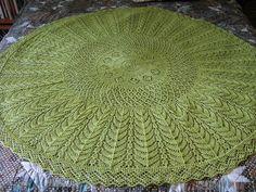 Free Pattern: Firmaments Lace Shawl by Bonnie Sennott