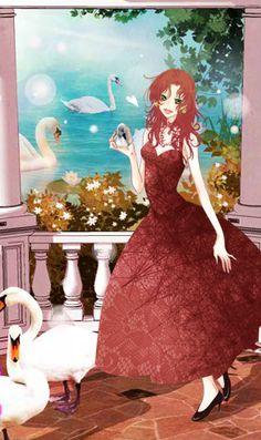 """""""Swan Princess"""" by @alyssataylor101."""
