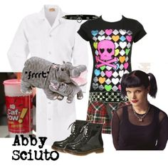 Gotta love Abby... Style, personality, Abby, lol... But I would probably die if I drank as much Caf-Pow as she did