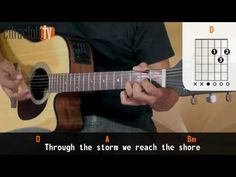 With or Without You - U2 (aula de violão simplificada) - YouTube