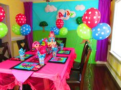 Addison's 5th lalaloopsy Birthday party