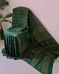 Cotton Silk, Printed Cotton, Block Print Saree, Cotton Sarees Online, Traditional Indian Wedding, Casual Saree, Printed Sarees, Party Wear Sarees, Saree Styles