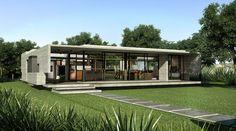 Exterior-03_R Besonias Almeida arch  moderne betong/tre / natur / sleek lines, overdekke uteplass