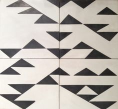 Living Vintage Tile Cement tile from ALT's Living Vintage Fabric Collection. * Design: Kutner * Size: 8 sq * Content: Cement * Lead time: weeks * Pricing per sq ft; does not include shipping 159455643034991337 Half Bath Remodel, Floor Art, Tile Floor, Living Vintage, Geometric Tiles, Textiles Techniques, Vintage Tile, House Tiles, Tiles Texture