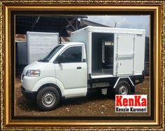 MOBIL BOX ALUMUNIUM >> KAROSERI KENKA Dan, Trucks, Truck, Track