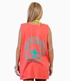 Two-Tone Logo Tank Top - Tank Tops - Shop | The Southern Shirt Company