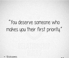 Wish you'd make me ur priority