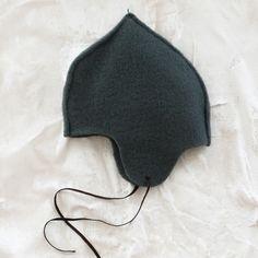 makie wool fleece baby hat