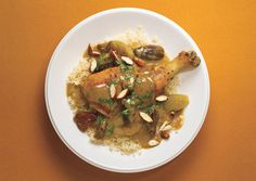 Braised Chicken with Dates and Moroccan Spices....my favorite chicken recipe ever.