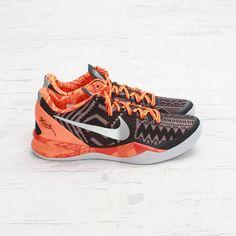 reputable site 24405 81568 Nike Kobe 8 System - BHM (Anthracite Total Orange) Kobe Bryant Basketball  Shoes