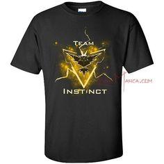 bee2ba248d 2016 Team Instinct Pokemon Go Tees Men Women Short Sleeve T Shirt Mystic  Team Tops Clothes Fashion Casual Summer Sports T Shirt