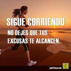 Motivacion de ejercicio - sigue corriendo.