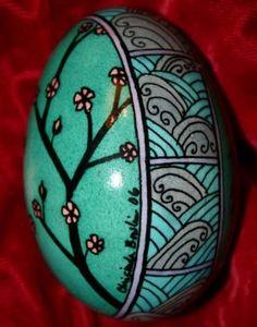 Japanese Art Easter Egg