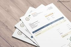 With abstract decorations and well-balanced colors, Daisy is a clean invoice template that transcends the boring concept of lines and numbers. The eye is immediately drawn to the bottom right corner, where the amount due is shown. Download it at https://invoicebus.com/templates/invoices/creative/clean-invoice-template-daisy/