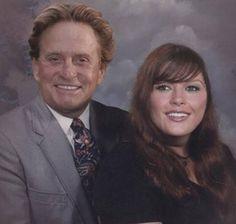 Catherine Zeta Jones & Michael Douglas.....if celebrities were from the midwest:)