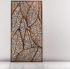 decorative wood or metal screens