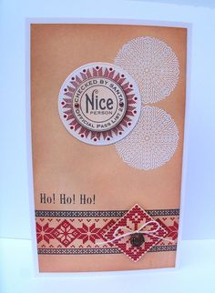 "Gingham Girl  Featuring Around Christmastime, Nordic Winter and a ""ho ho ho"" from Nutcracker Sweet!"