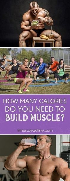 People tend to forget their calorie intake when attempting to gain muscle. You need to consider the amount of calories you are consuming every day to ensure proper muscle growth.