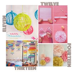 The Love of Cupcake: DIY { Party Decorations }