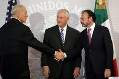 Foreign Minister Of Mexico Aperture Irritation With U.S Secretary Of State Rex Tillerson