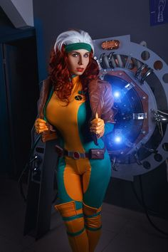 Elena Samko Cosplay - Rogue - Cosplay - X-Men Rogue Cosplay, Male Cosplay, Best Cosplay, Cosplay Girls, Xmen Cosplay, Girl Costumes, Costumes For Women, Amazing Cosplay, Character Costumes