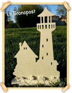 Bretagne : maison & phare www.legronopost.blogspot.com