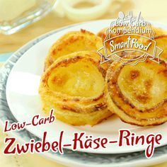 Low-Carb Zwiebel-Käse-Ringe in 10 Sekunden