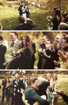 What can I say? The best wedding EVER :')