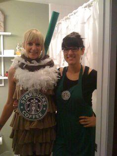 Adult Starbucks Halloween costume
